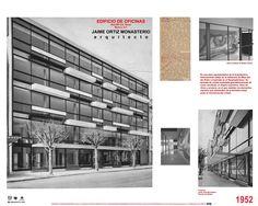 Edificio en la calle de Niza, Cd. de México- Arq Jaime Ortiz Monasterio México City, Desktop Screenshot, Mid Century, Modernism, Office Buildings, Nice, Mexico City, Mexican, Street