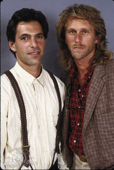 Still of Peter Horton and Ken Olin in thirtysomething