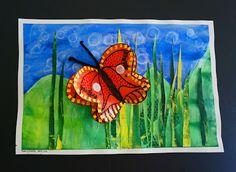 3D Fluttering Butterfly (that artist woman)