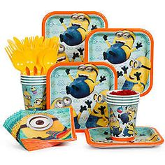 Despicable Me Party Ideas, Supplies and Decorations | WholesalePartySupplies.com