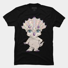 Lil Sassy Triceratops T Shirt By Ayota Design By Humans