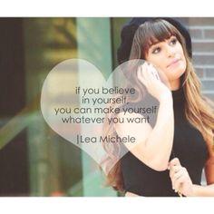 ❤️ Lea Michele #quote @Nicole Preisler