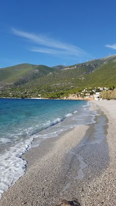 Porto Germeno main beach Maine, Greece, Beach, Places, Water, Outdoor, Porto, Greece Country, Gripe Water