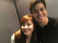 ElNella for recording.... ♥♥♥ @elmomagalona ♡ @superjanella
