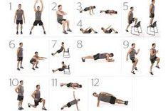 Resultado de imagen para acondicionamiento fisico ejercicios
