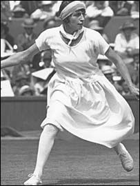 Kathleen (Kitty) Godfree won Wimbledon singles in 1924 and 1926. Her prize for winning? A £10 Mappin and Webb voucher!