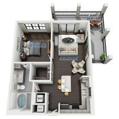 House Floor Design, Sims 4 House Design, Small House Design, Tiny House Layout, House Layout Plans, House Layouts, Sims 4 House Plans, Small House Floor Plans, Home Building Design