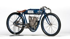 1909 Indian Twin Board Track Racer
