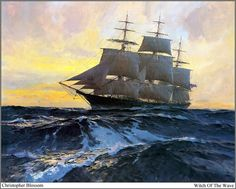 Christopher Blossom art
