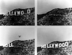 The Hollywood sign is reborn: 1978.