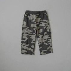 Nano Boys Camo Cargo Pants