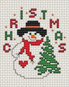 Resultado de imagem para free christmas cross stitch patterns