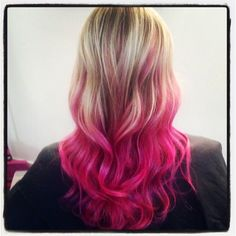 PINK balayage   Tami Ingram at Spoiled Rotten Salon   Austin, Texas