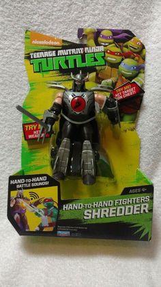 Teenage Mutant Ninja Turtles Shredder Hand-to-Hand Fighters - NEUF #Branded