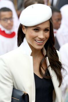 Meghan Markle departs the 2018 Commonwealth Day service at Westminster Abbey in London, England - March 12, 2018