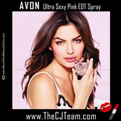 Ultra Sexy Pink Eau de Toilette Spray. Avon. Reveal your sweet and sexy side. A provocative fruity floral scent with flirty raspberry and fresh blushing peony mingled with sheer, sexy musk. Regularly $25. FREE shipping with any $40 online Avon purchase #Avon #Sale #CJTeam #Perfume #New #Fragrance #UltraSexy #UltraSexyPink #MoreThanMakeupOnline #Fragrance #Avon4me #C10 Shop Avon Fragrance online @ www.TheCJTeam.com