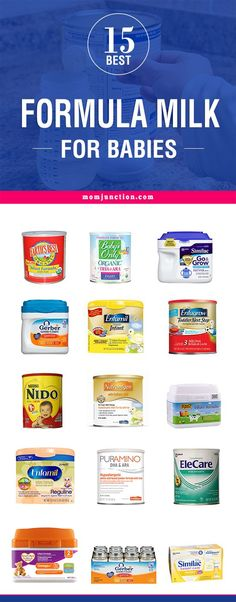 Are you a mommy looking for a formula feed for your baby? Confused about which formula to choose? Then check out here 15 best best formula milk for babies..