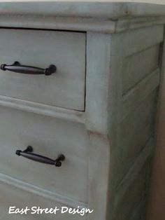 East Street Design ~ chest of drawers in duck egg blue
