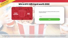 Kfc, Free Coupons, Cards, Gifts, Favors, Playing Cards, Presents, Gift, Maps