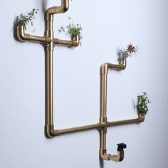 Grow Herbs Indoors And Out With This Stylish Pipe Garden Indoor Pipe Herb Garden