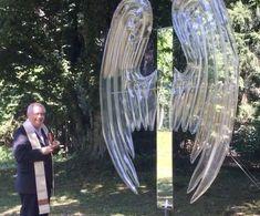 ArtProject - installation angel with mirror - ©Semmelrock Angel, Mirror, Artwork, Work Of Art, Auguste Rodin Artwork, Mirrors, Artworks, Illustrators, Angels