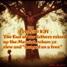 What other men do they hang on Trees???? thats right black man. The real ISRAELITES of the bible are BLACK according to the bible and history #HebrewIsraelites spreading TRUTH #ISRAELisBLACK