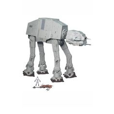 Includes AT-AT, Driver Figure and Speeder Bike Measures Poseable legs http://www.magictoystore.co.uk/