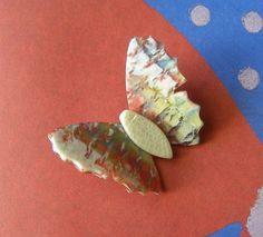 Broche Léa Stein  Papillon Léa Stein  Broche par antiquityfrench  https://www.etsy.com/fr/listing/467036798/broche-lea-stein-papillon-lea-stein?utm_source=Pinterest&utm_medium=PageTools&utm_campaign=Share