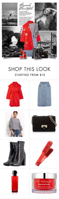 """""""Beyond Beautiful"""" by beograd-love ❤ liked on Polyvore featuring Bottega Veneta, M.i.h Jeans, Aspinal of London, Steve Madden and Dr. Sebagh"""