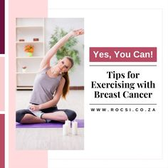 Here's some exercising tips as you go through treatment. And don't forget to communicate with your doctor to ensure you're exercising at the appropriate exertion level for your condition. #breastcancerawareness #breastcancer #breastcancersurvivor #breastcancerwarrior #cancer #survivor #womenshealth #health #pinkribbon #cancercommunity #ROCSI #DrSerrurier #DrCharlesSerrurier Breast Cancer Support, Breast Cancer Survivor, Breast Cancer Awareness, Health Tips, Health Care, Cancer Fighter, Medicine, Forget, Exercise