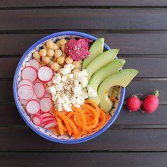 Ihr liebt gesundes Essen, experimentiert gerne mit frischen Zutaten und das Gericht soll auch optisch etwas hermachen? Dann müsst ihr unbedingt Buddha Bowls kennenlernen!