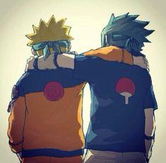 Naruto Uzumaki y Sasuke Uchiha Naruto Vs Sasuke, Itachi Uchiha, Anime Naruto, Sasunaru, Boruto, Naruto Team 7, Naruto Cute, Naruto Shippuden Anime, Narusasu