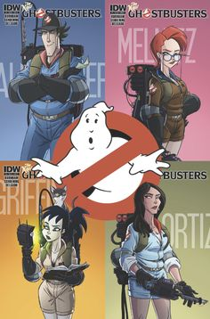 Who you gonna call?     The New Ghostbusters are coming and we couldn't be more excited!
