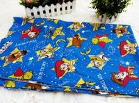 155*100cm Cartoon Toy Story Polyester Cotton Fabric DIY Handmade Material Hometextile Patchwork For boy Bag