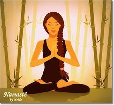 illustration of a beautiful young woman meditating in yoga lotus position Position Du Lotus, Yoga Illustration, Lotus Yoga, Health And Fitness Articles, Yoga Art, Yoga For Beginners, Archetypes, How Beautiful, Beautiful People