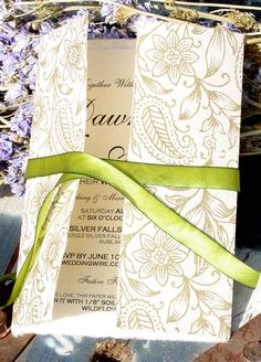 1000 Images About Eco Friendly Wedding Invitations On