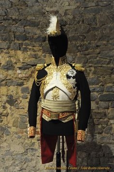 UNIFORME DE COLONEL GENERAL DES GRENADIERS DU MARECHAL DAVOUT, EMPIRE