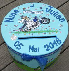 urne mariage personnalise sur le thme des motos motards urne grande taille - Urne Mariage Moto