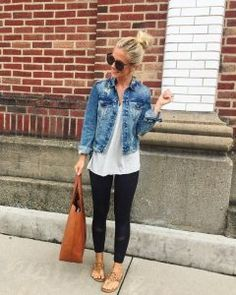 33 Fantastic Spring Outfit Idea for Women Style - Mode Frauen Looks Style, Style Me, Casual Mom Style, Casual Chic, Casual Office, Office Attire, Style Hair, Office Wear, Leggins Casual
