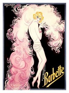 Blossom Style Inspiration by A Design Queen: Vintage Burlesque Inspiration  Art by Charles Gesmar