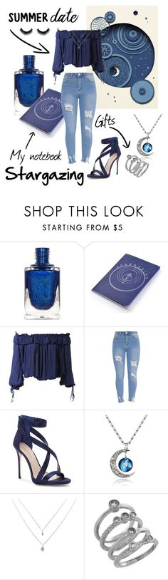 """""""Summer date • Stargazing 💫"""" by lemon54 ❤ liked on Polyvore featuring Dsquared2, Imagine by Vince Camuto and Cole Haan"""