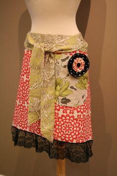 great mix of fabrics