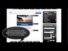 How to set up a mobile page for a giveaway or a contest using piJnz.