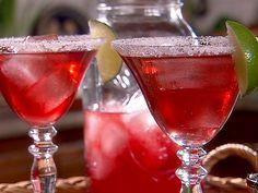Pomegranate Margarita recipe from Danny Boome via Food Network