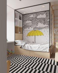 Bedroom | Se tem uma coisa que eu amo são esses quartos de criança, um mais criativo que o outro. (Via Ikea) SnapDecoreChic