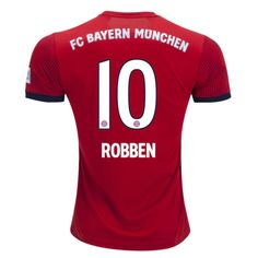 2697f800f1e Bayern Munchen 18/19 Home Men Soccer Jersey Personalized Name and Number