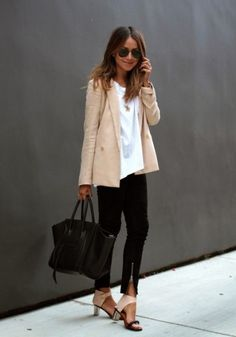 sincerely jules minimalistic neutral outfit