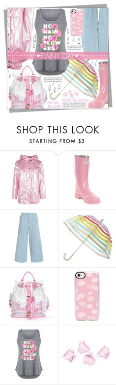"""Rainy Day"" by celine-diaz-1 ❤ liked on Polyvore featuring Boohoo, Forever Young, Acne Studios, Kate Spade, Casetify, Old Navy, LC Trendz and H&M"