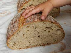 Dobrou chuť: Chléb Kubík Sourdough Recipes, Bread Recipes, Cooking Recipes, Healthy Recipes, Czech Recipes, Polish Recipes, Croissants, Bread Baking, Food Hacks