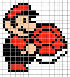 Cro Knit Inspired Creations By Luvs2knit: Mario Graphs For Crochet, Afghan Stitch, Tunisian Crochet, Knitting